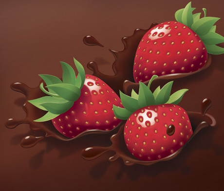 Chocolate Strawberry Splash